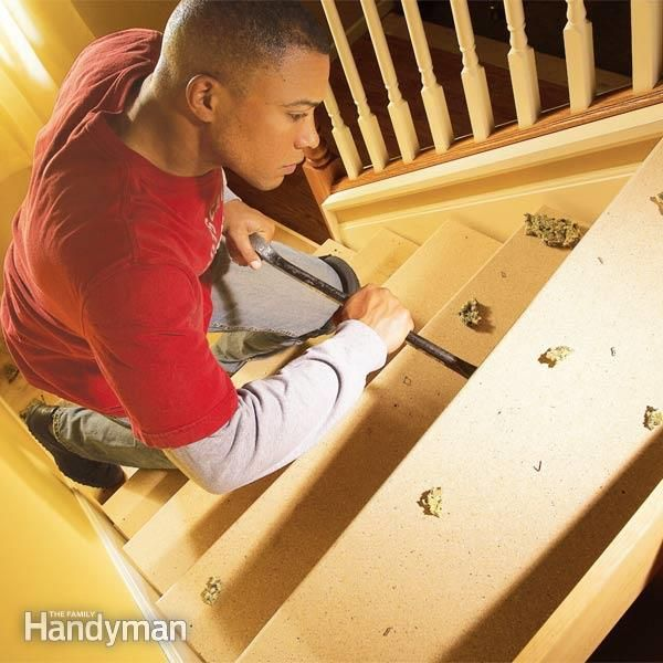 Best How To Repair Squeaky Stairs Fix Squeaky Floors Home 400 x 300