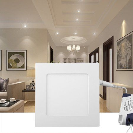 Filmy 9w Led Square Recessed Ceiling Panel Down Light Bulb Lamp 110v 146mm Dc24 48v Warm Nature Cool White 3200 Recessed Ceiling Light Bulb Lamp Ceiling Panels