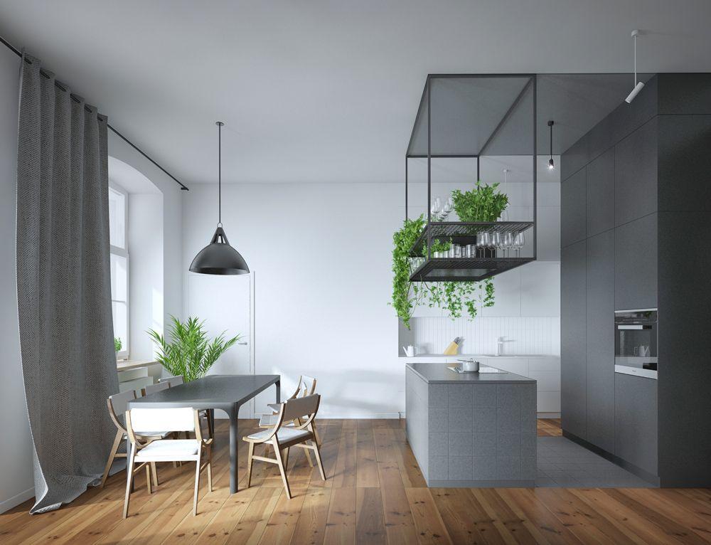 Przestrzenna Projekt Aranzacji Wnetrza Mieszkania W Starym Budownictwie Znamy Sie Home Decor Interior Furniture