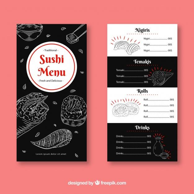 Carta De Restaurantes De Sushi Cerca Amb Google Restaurantes De Sushi Cartas Restaurante Sushi