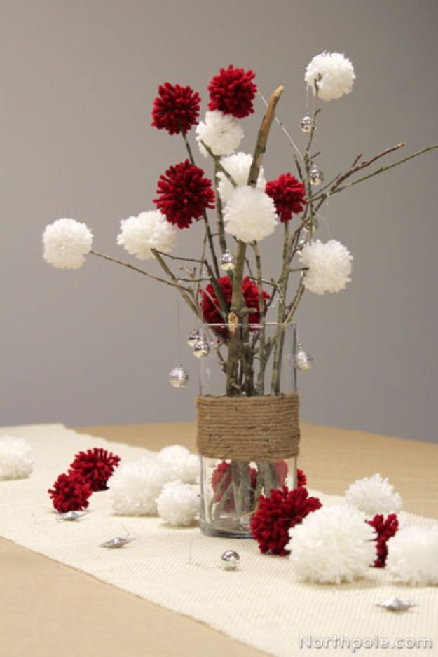Photo of 34 DIY Christmas Centerpieces for Holiday Decor Ideas –   – #centerpieces #chris…
