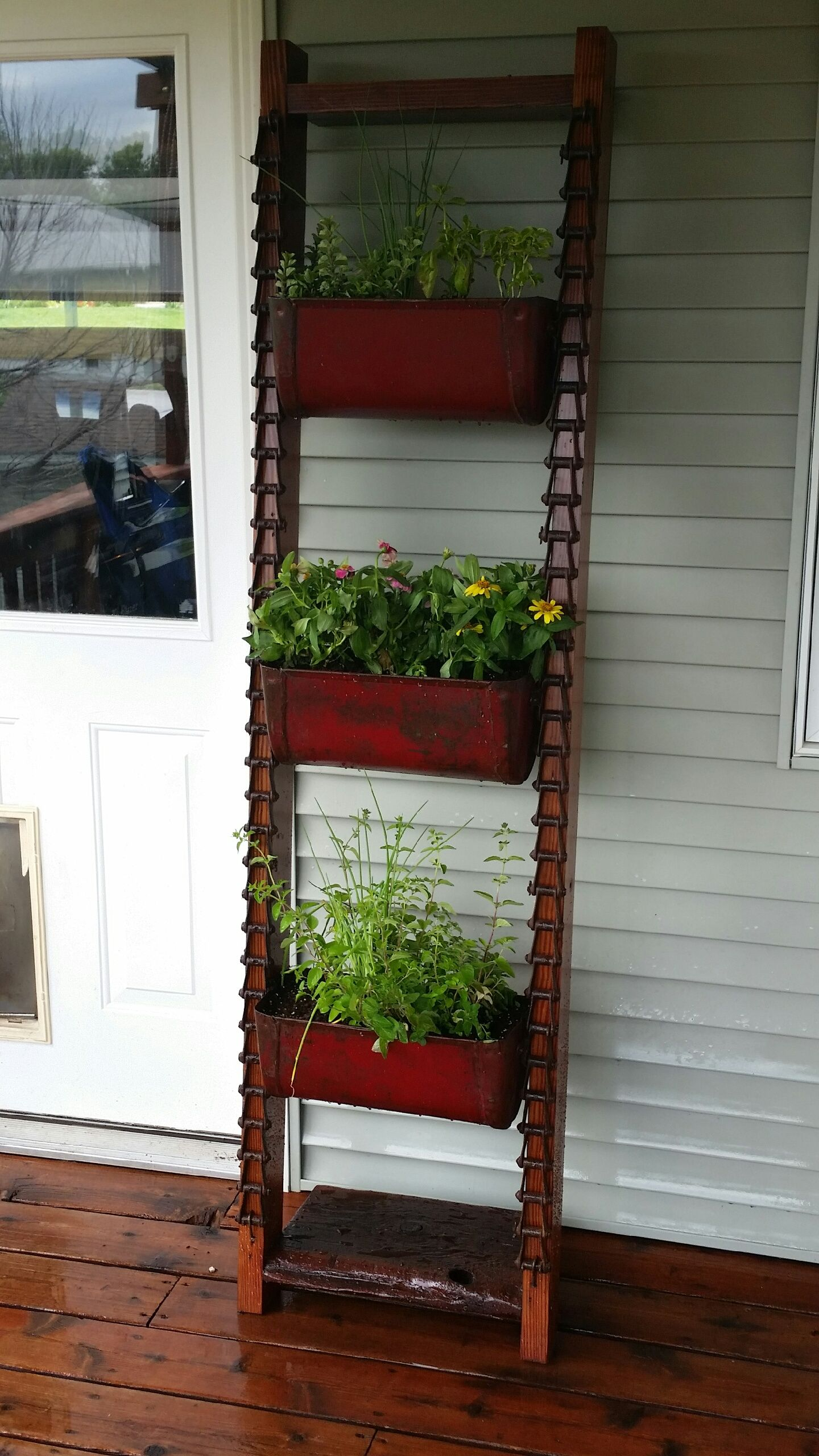 Grain Elevator Buckets Repurposed Upcycle Farmhouse