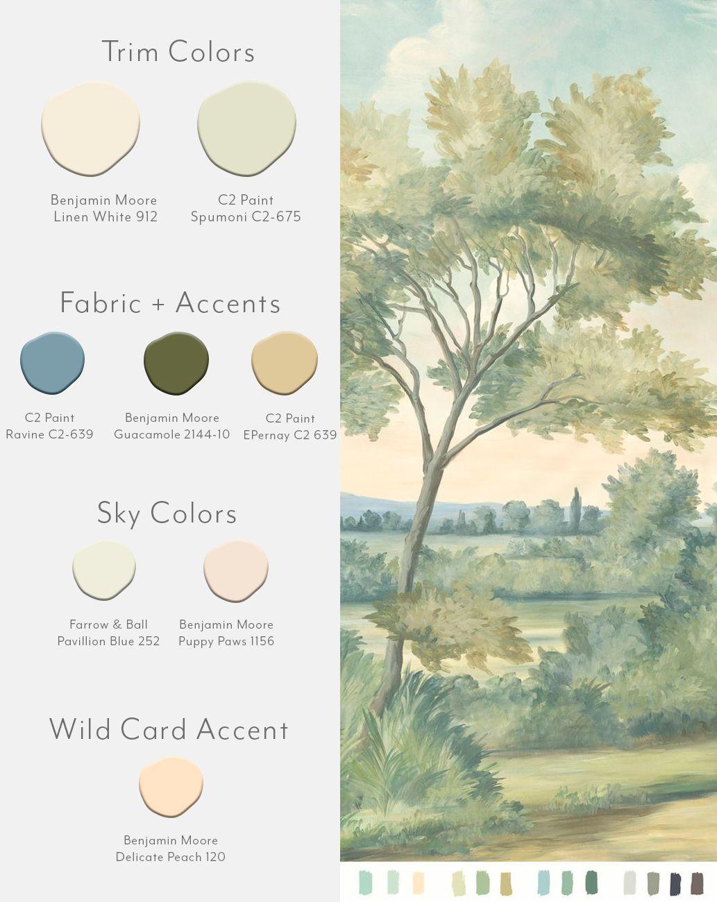 Aldsworth Natural Sample Mural Wallpaper Mural Favorite Paint Colors