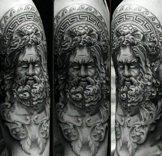 Pin By Vicky Roberts On Greek Sleeve Tatouage Manches Tatouages