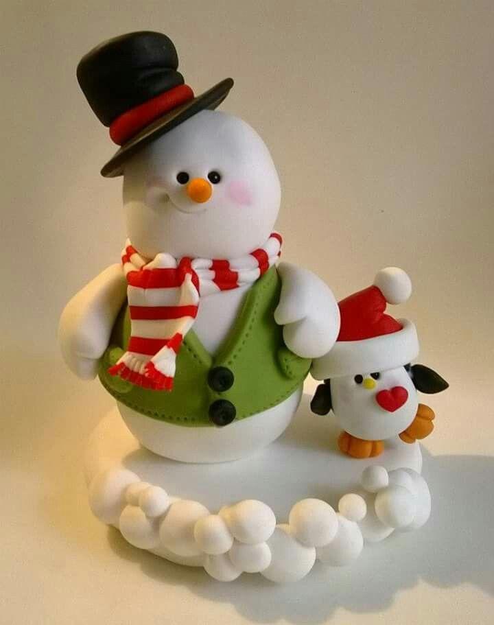 Lindos trabajos masilla christmas clay clay ornaments for Adornos navidenos en porcelana fria utilisima