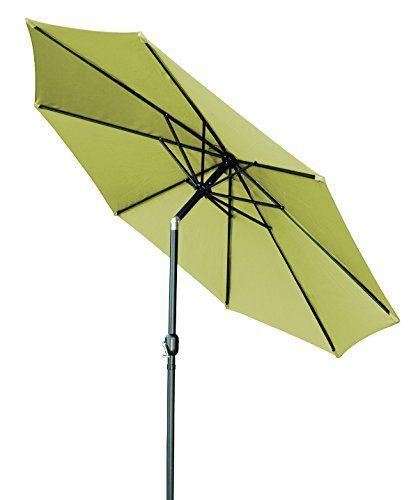 Trademark Innovations Tilt Crank Patio Umbrella Light Gr Https