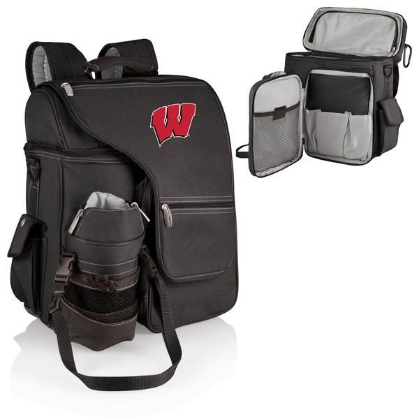 ecddf38bfa2d Turismo Cooler Backpack - Wisconsin Badgers - Oxemize.com