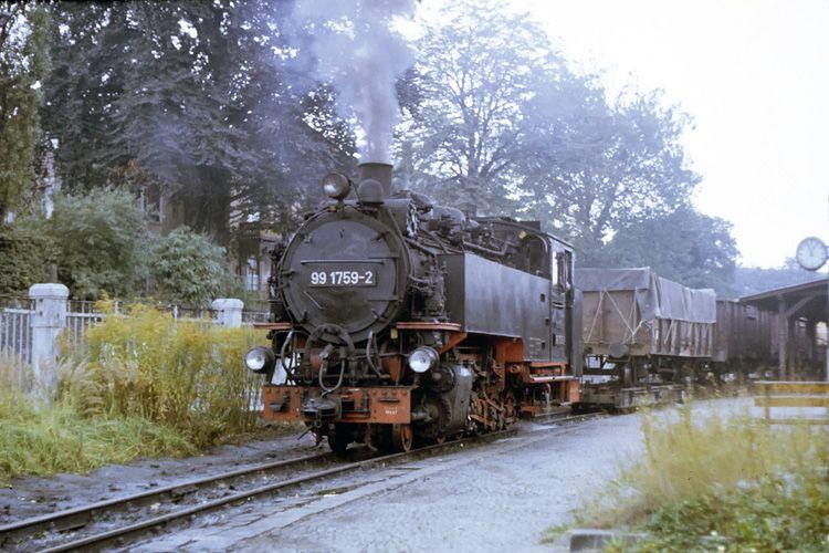 Güterverkehr bei der Kleinbahn Zittau in der DDR