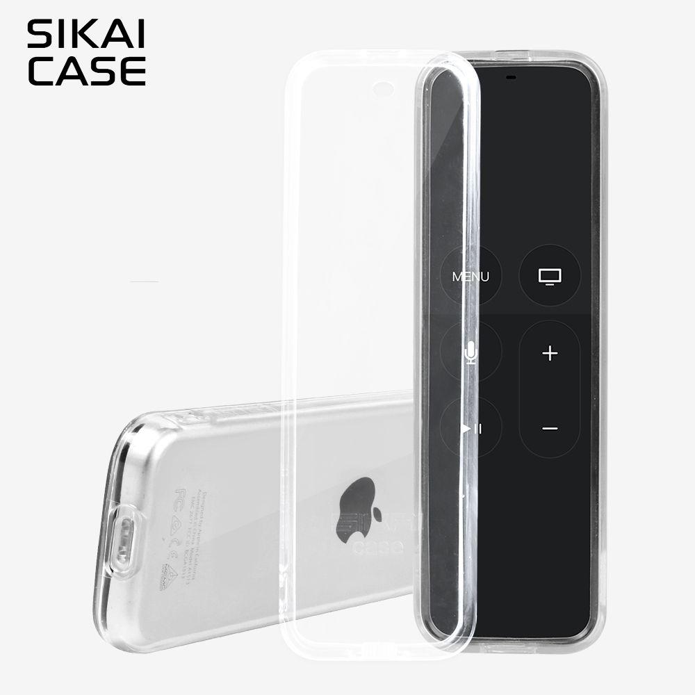 SIKAI For Apple TV 4th Remote Control Case Protective TPU