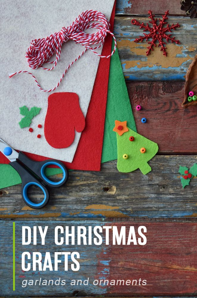 Craft Some DIY Christmas Garlands and Ornaments