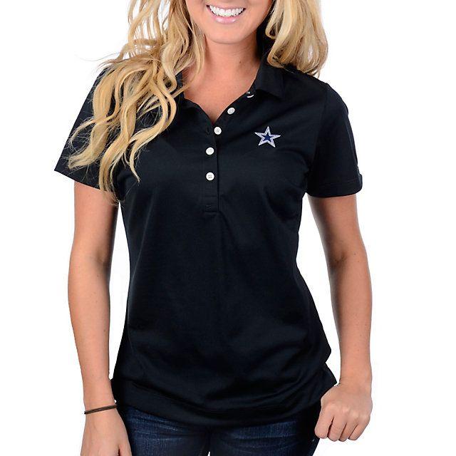 7b5d8607f Dallas Cowboys Nike Golf Womens Tech Pique Polo Black