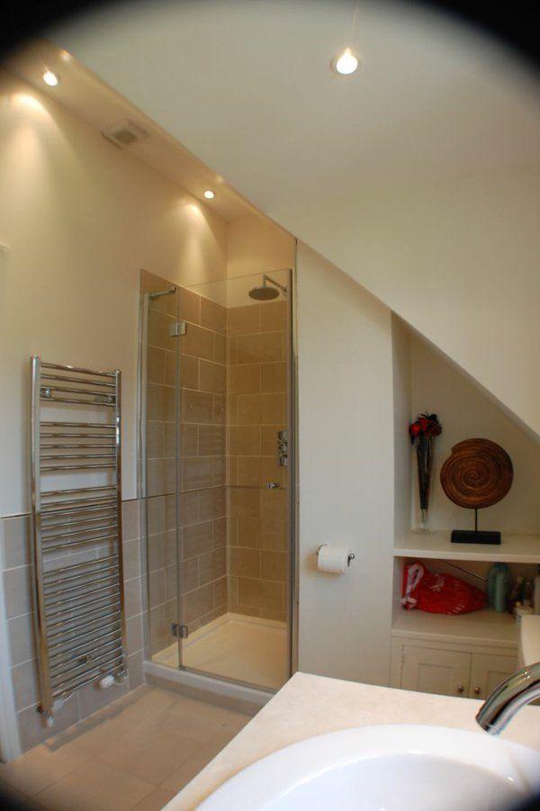 Une salle de bain sous pente ou sous combles en 52 photos! | Salle ...