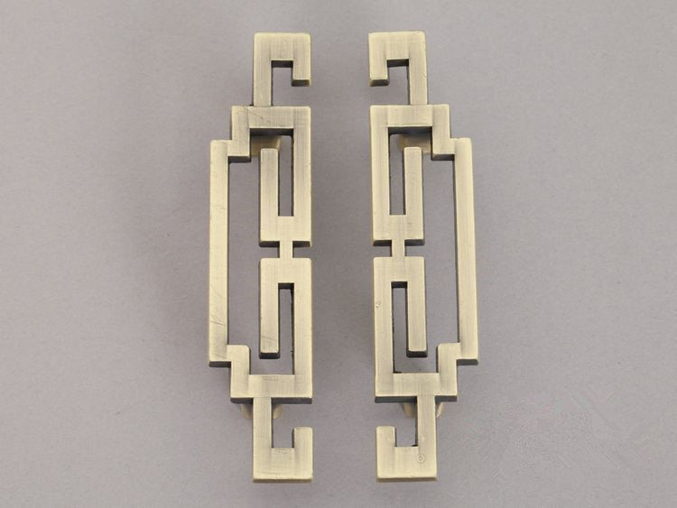 Pair of 2.5 3.75 5 Vintage Style Cabinet Door Handles Pull Antique ...