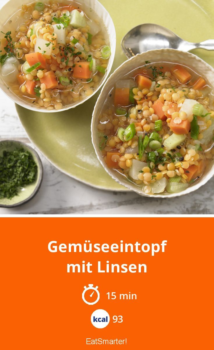 Gemüseeintopf mit Linsen #seafoodstew