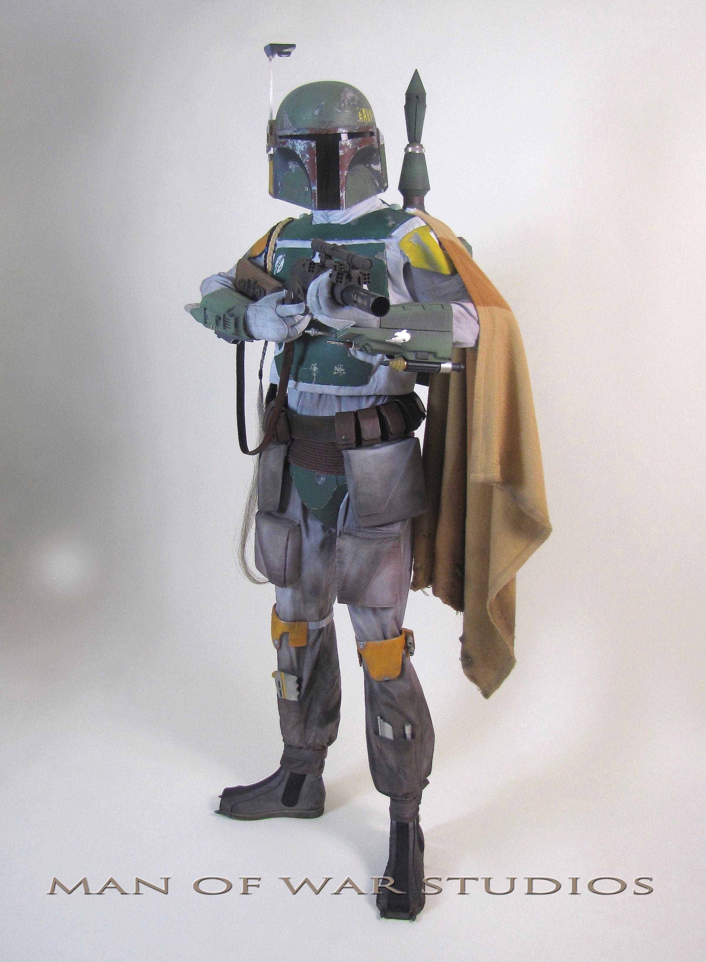 Boba Fett ESB Hero Costume from Manofwarstudios.com   Star Wars ...