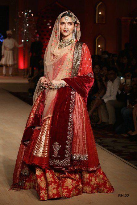 Bajirao Mastani Collection Lehenga Set Indian Bridal Wear Bridal Dupatta Indian Fashion