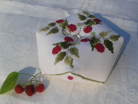 Pincushion Biscornu Cross Stitch Pin Cushion Embroidered Etsy Biscornu Cross Stitch Cross Stitch Pin Cushions