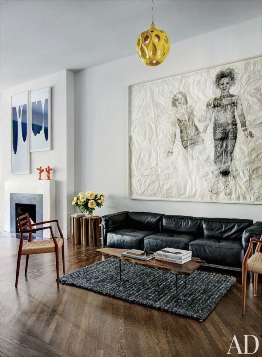 Black Leather Sofa With Wood Trim In 2020 Leather Sofa Li
