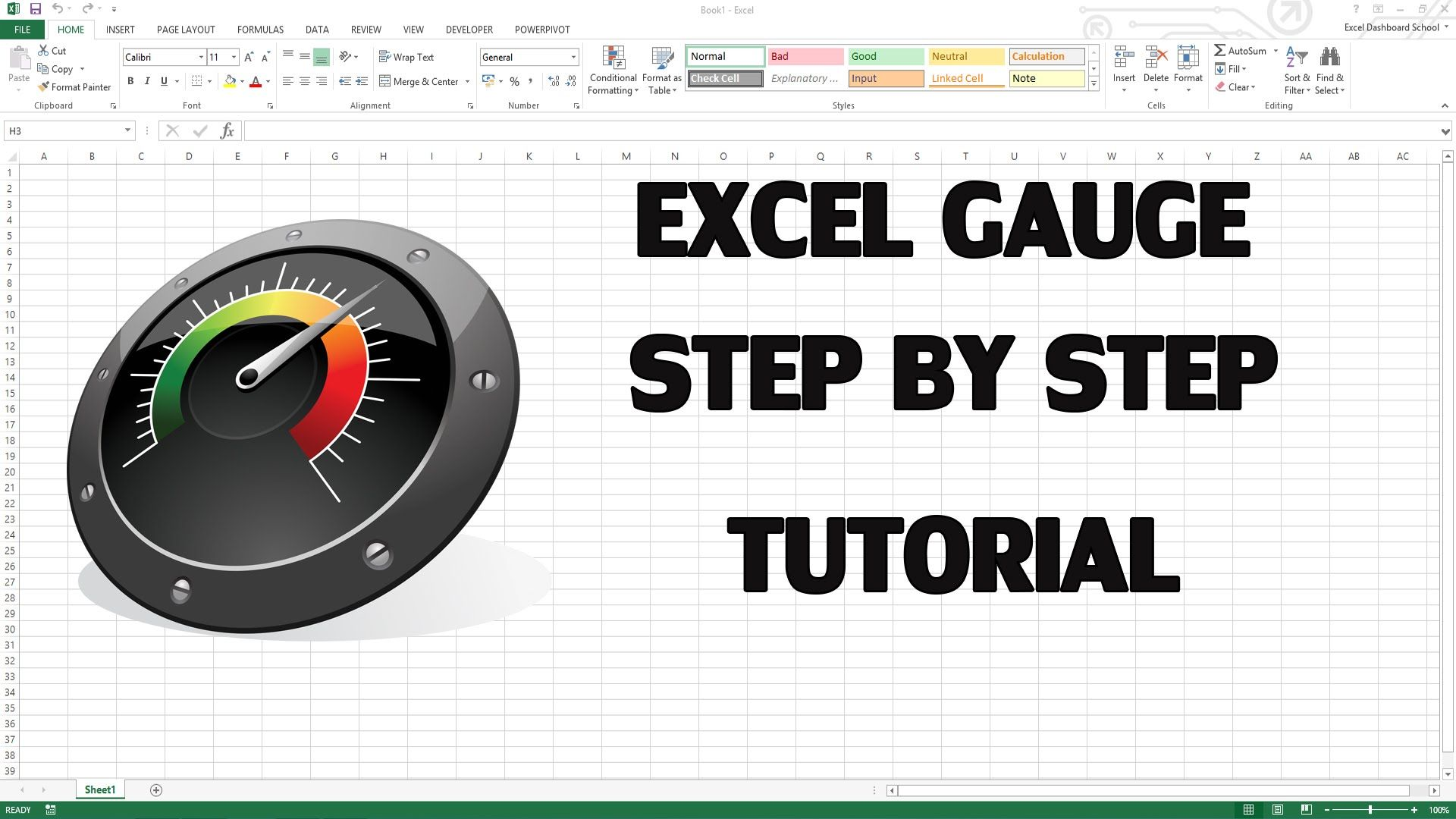 How To Create Excel Kpi Dashboard With Gauge Control Visit Our Gauge Maker Add In Https Exceldashboardschool Excel Dashboard Templates Kpi Dashboard Excel Excel dashboard gauges free download