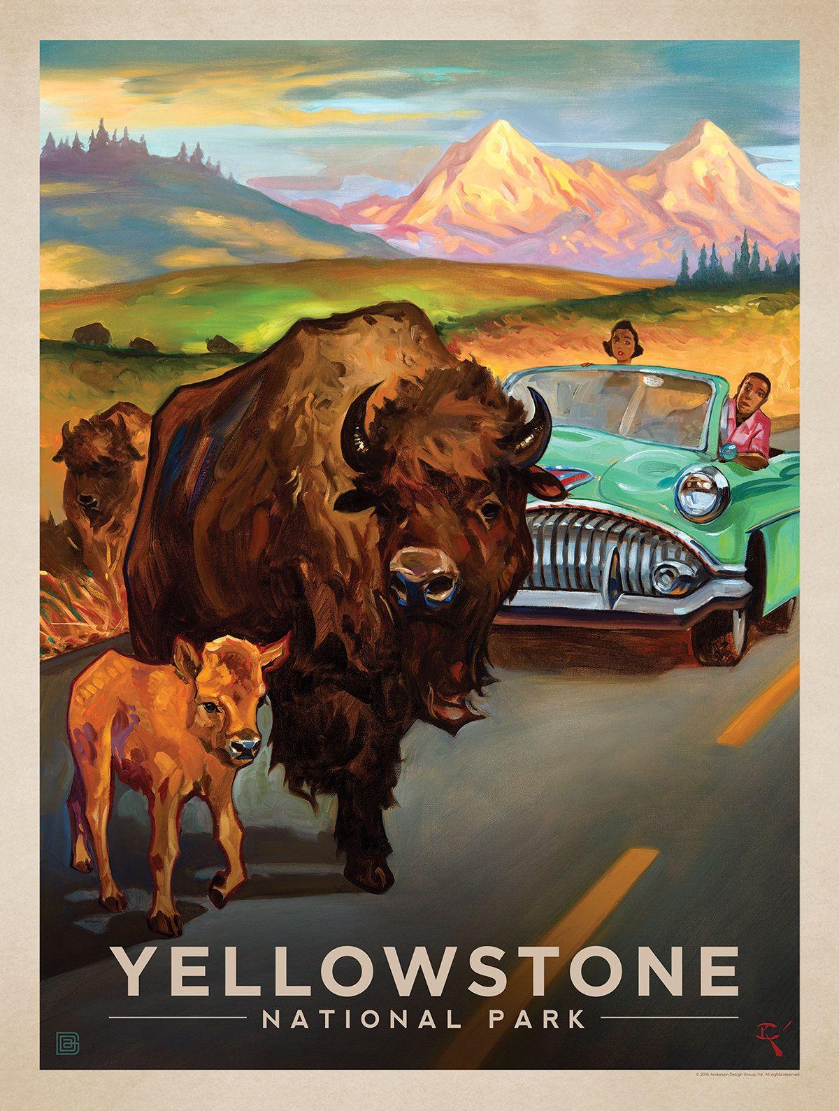 Anderson Design Group Studio Store Vintage Posters Retro Travel Poster Vintage Travel Posters