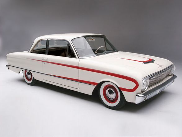 A 1962 Ford Falcon Recieve A Budget Paint Job Hot Rod Magazine Ford Falcon Ford Mustang Car Ford
