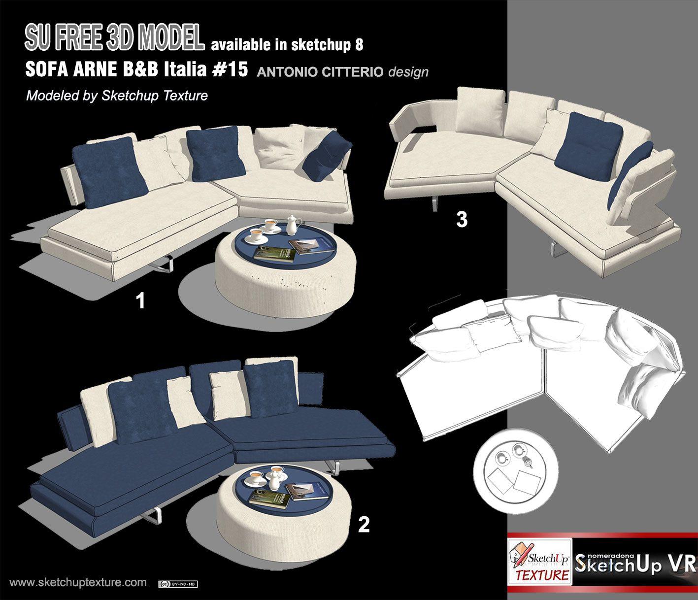 Sofa Texture Sketchup   Baci Living Room