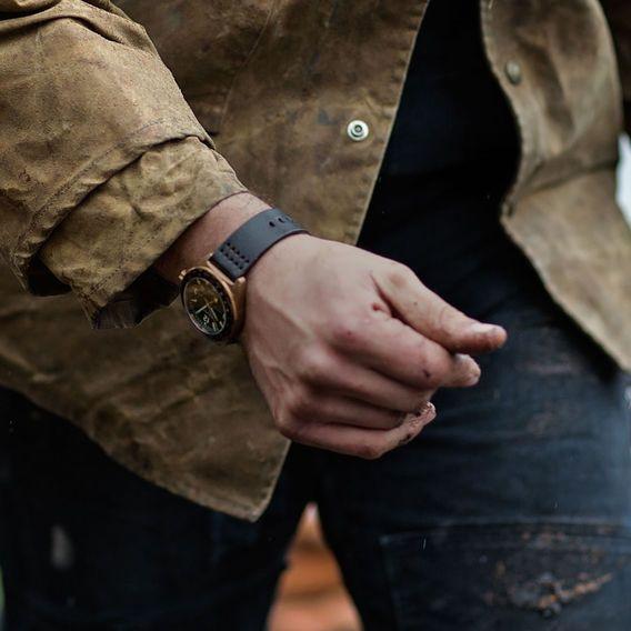 Filson x Shinola Journeyman GMT Watch | Huckberry