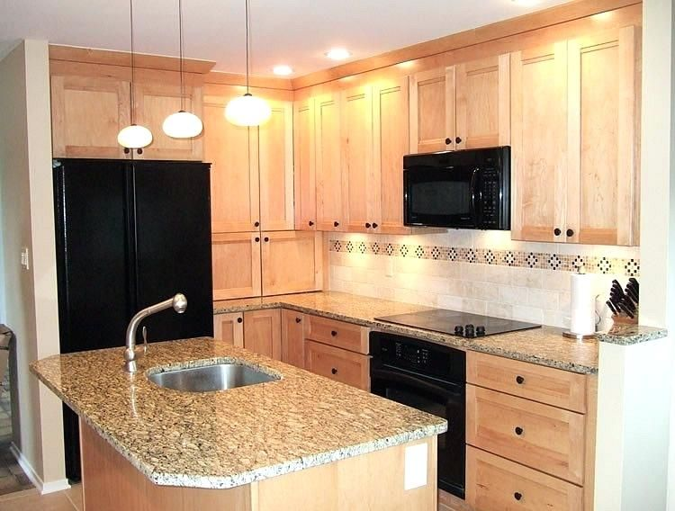 Fantastic maple kitchen cabinets with black appliances Illustrations,  #maplekitchencabinetswithblackappliances #maplekitchencabinetswithblackstainlesssteelappliances,