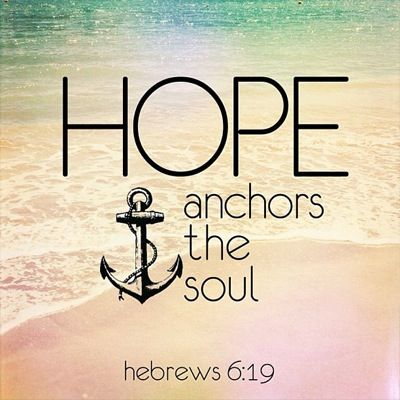 Explore Hope Anchor, Bible Quotes, And More!