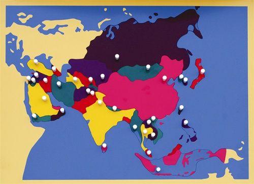Map of the world montessori szukaj w google ed geografia map of the world montessori szukaj w google gumiabroncs Image collections