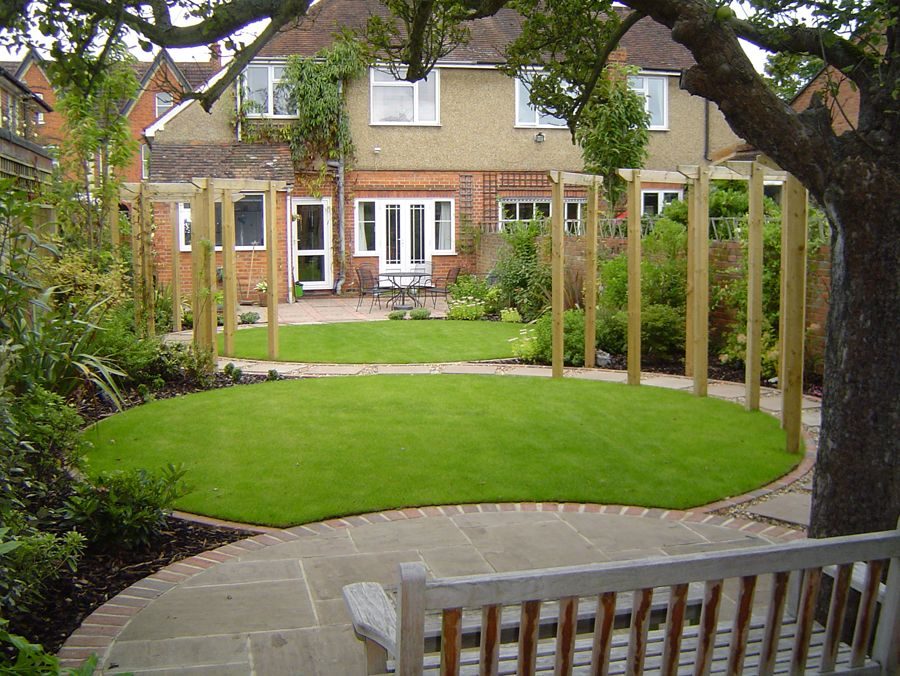 circular lawns google search - Garden Design Circular Lawns