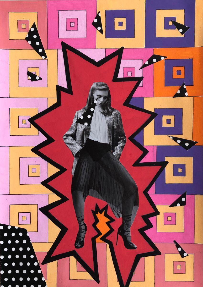 #modernart #contemporaryart #popart #editorialillustration #womenofillustration #instaart #fashionmagazine #popsurrealism #artmagazine #colorful #collageart #colorfulart #art #collagestash #ihavethisthingwithcolor #cutandpaste #artwork #illustration #analogcollage #fashionillustration #artist #linedrawing #pattern #artwork #kunst #pencildrawing #acolorstory #flowerpower