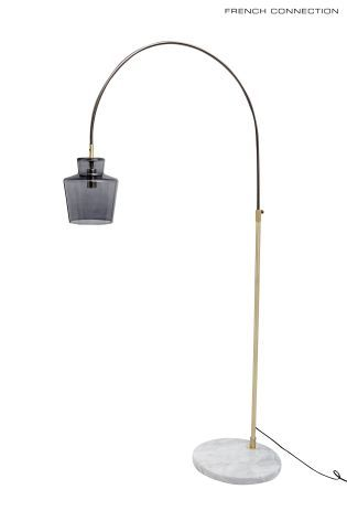 Buy French Connection Smoked Glass Arc Lamp From The Next Uk