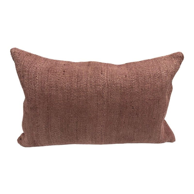 Turkish Pink Soft Decorative Hemp Kilim Pillow In 2020 Kilim Pillows Pillows Vintage Pillows
