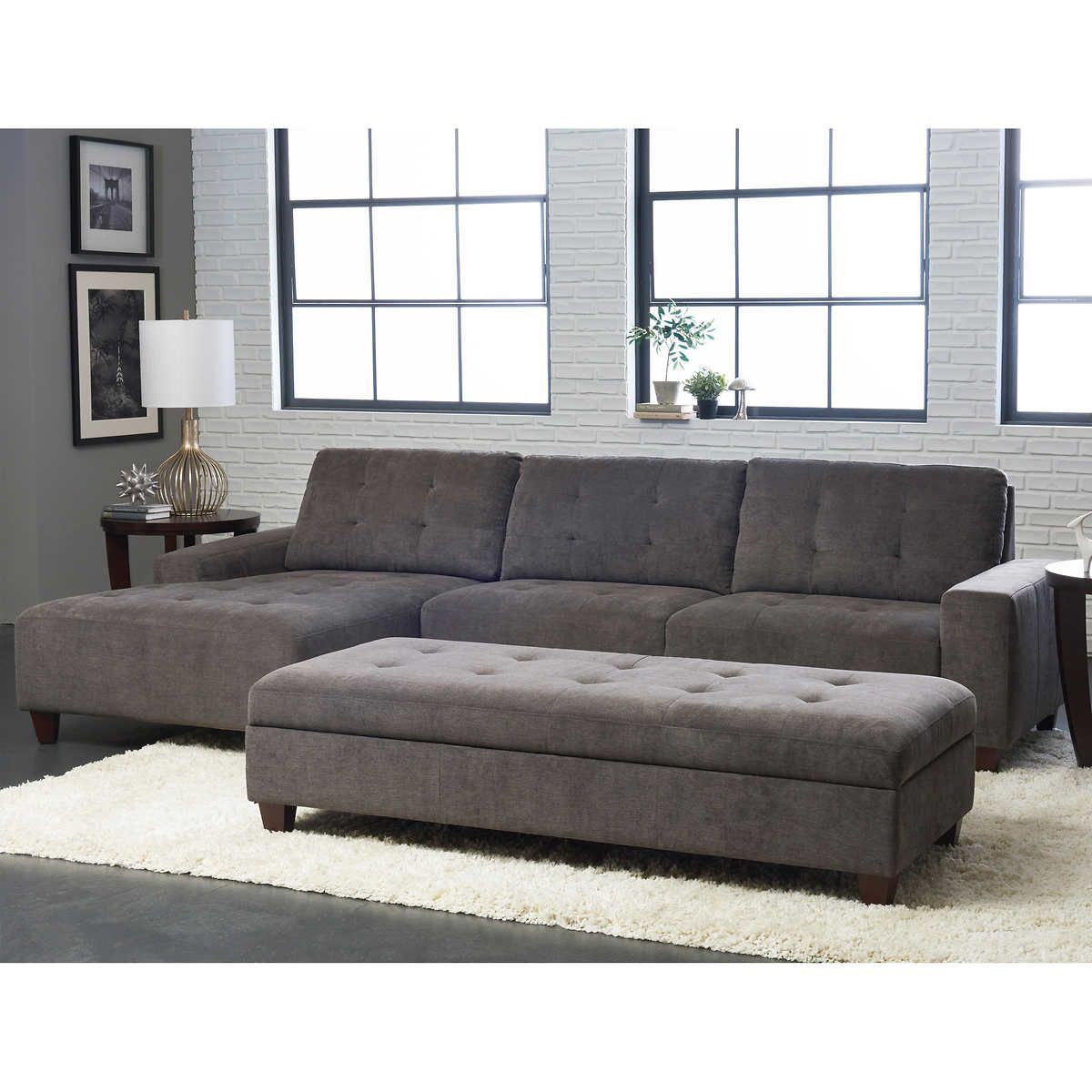 Pin On Fabric Sectional