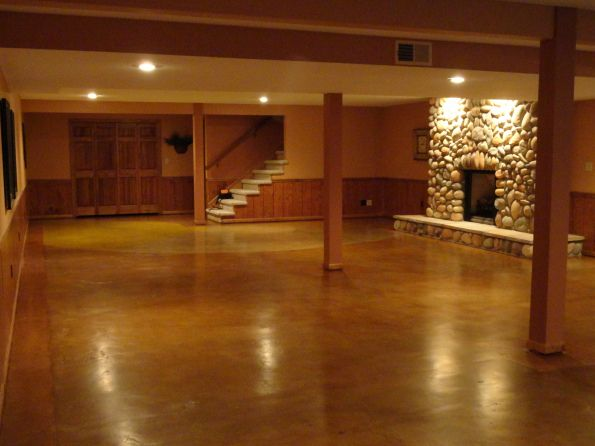Stained Concrete Floor Fort Wayne