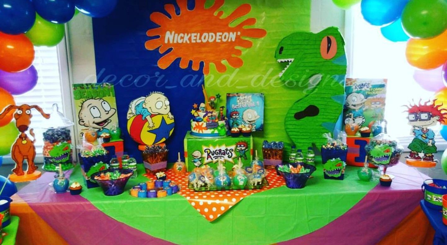Decor And Designs Rugrats Theme Party In 2019 90th Birthday