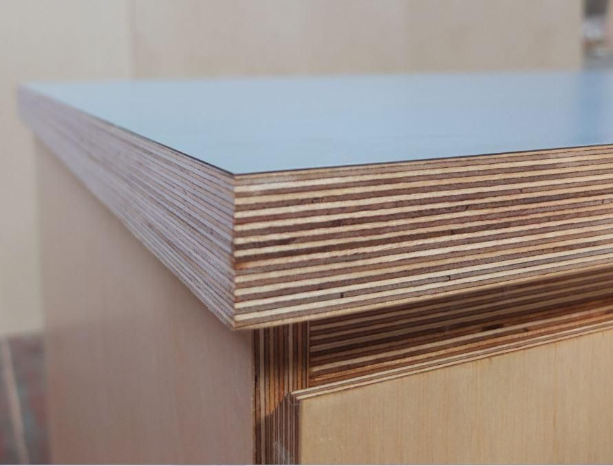 36mm Birch Plywood Worktop With Formica Farmwood Products