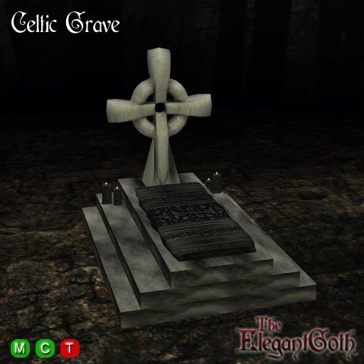 Gothic Celtic Grave : Roleplay in your Cemetery or Graveyard