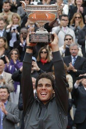 Nadal. Roland Garros 2012.