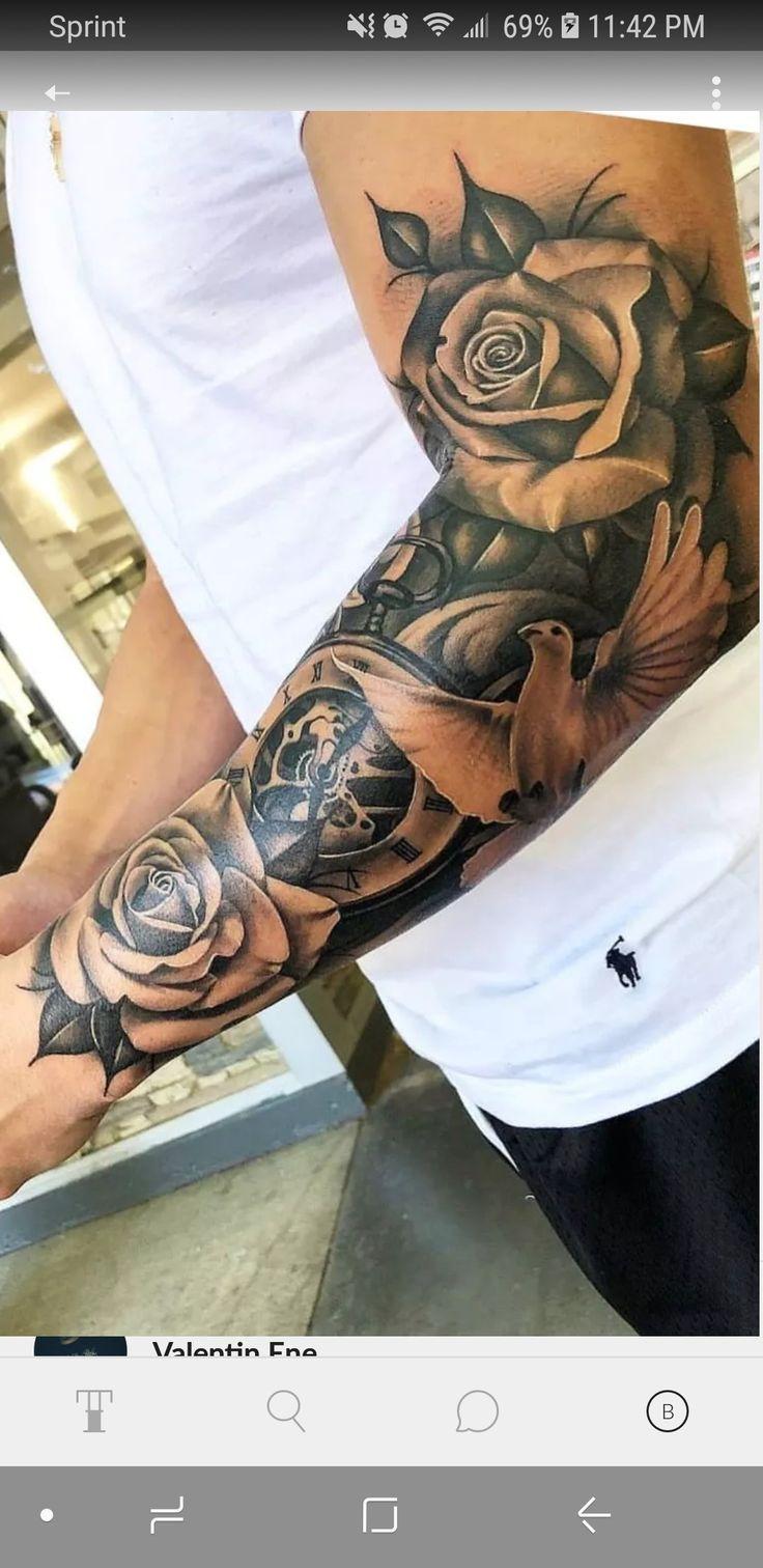 Platzierung platzierung   Half sleeve tattoos for guys, Sleeve ...