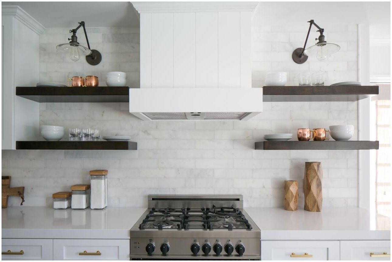 Site for open shelves ideas kitchen pinterest open shelves