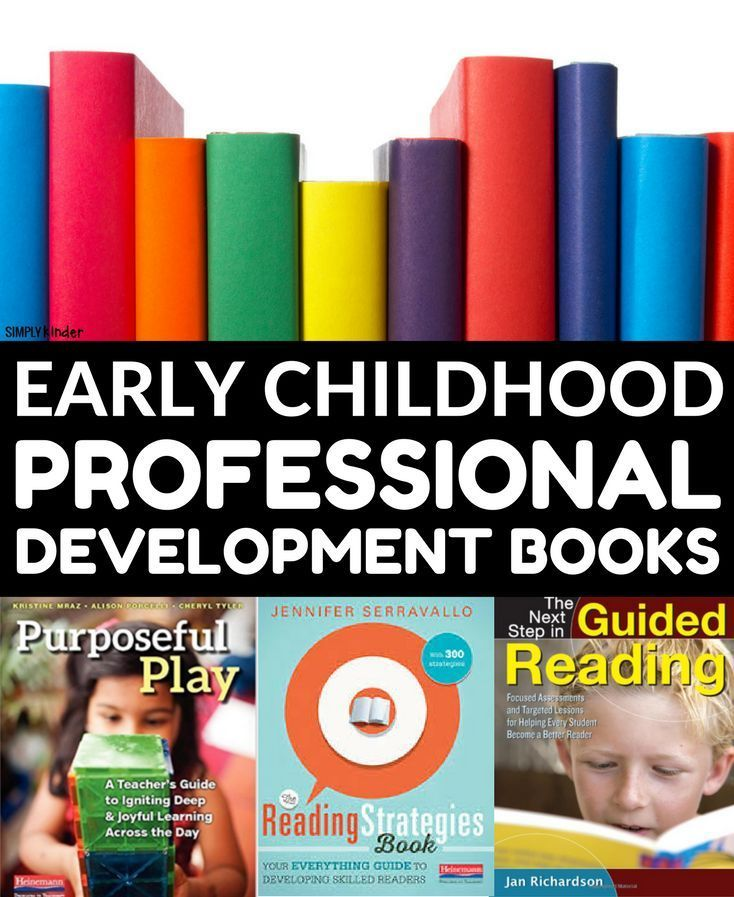 Professional Development Books for Kindergarten teachers. A huge list of books that early childhood