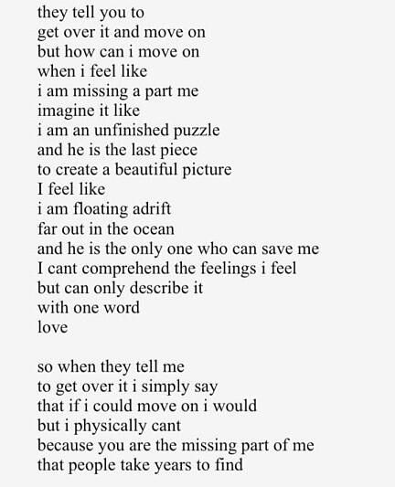 Searching for my soulmate poem