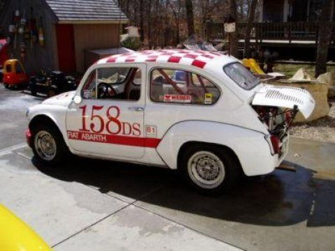 Fiat 500 Abarth Had To Drive With Boot Open So Engine Would Not