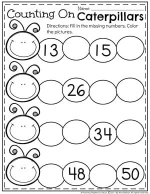 Counting to 100 Activities | Mathe