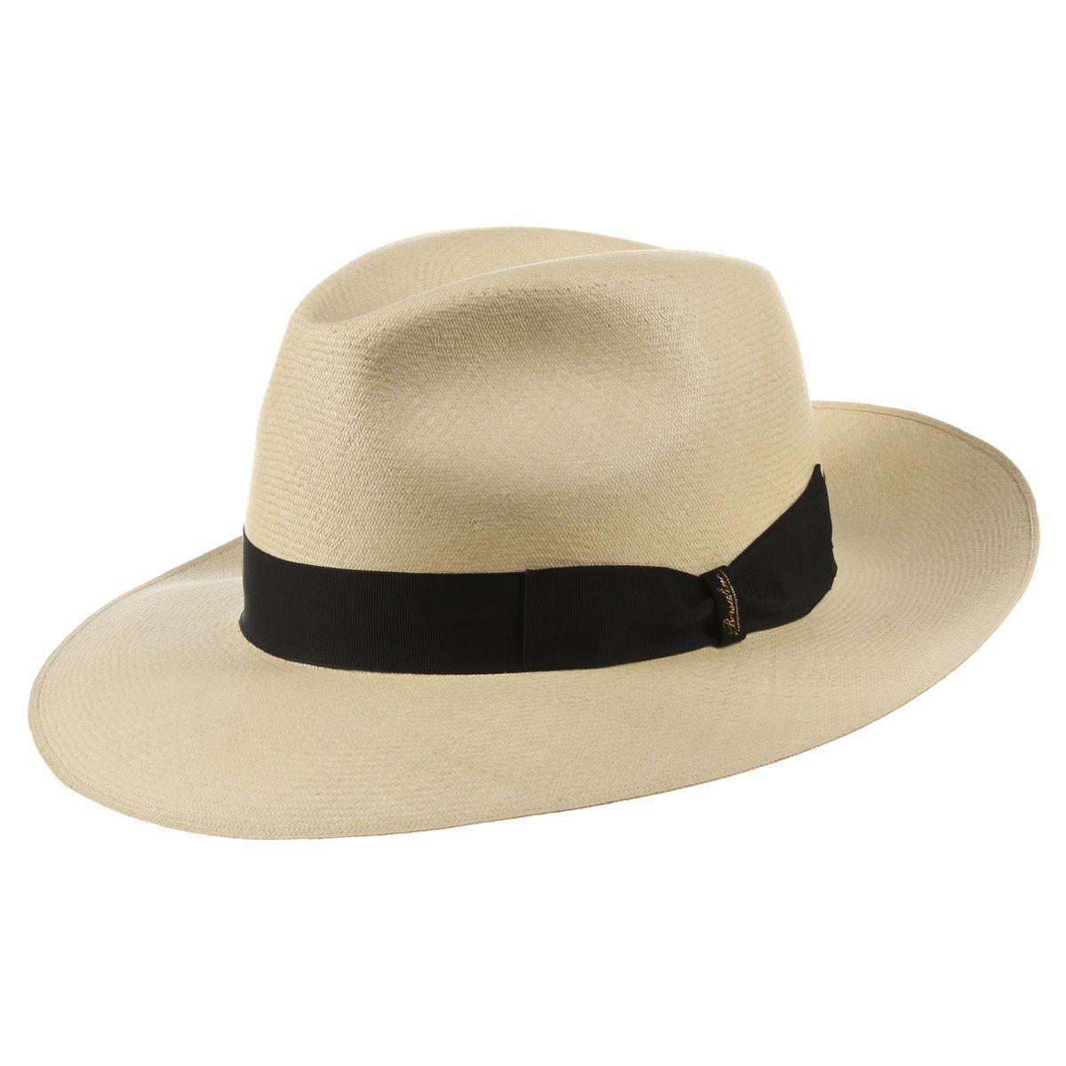 magasins d'usine qualité stable les dernières nouveautés Chapeau Panama Prestige Bogart by Borsalino | Manliness ...
