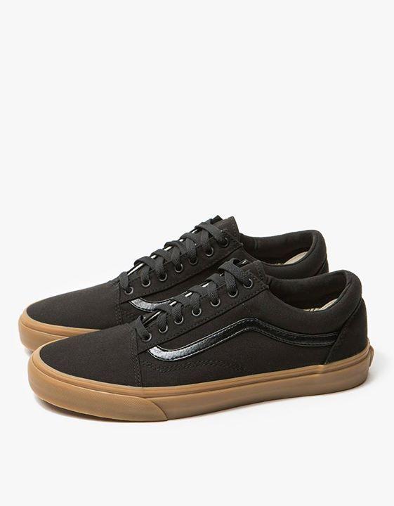 Vans Shoes Old Skool Canvas Black Gum Skateboard Sneakers  e79e265f8