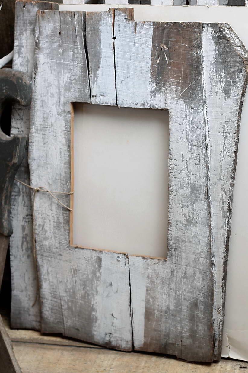 Cornice di legno sbiancato 50x70 Cornici, Fai da te