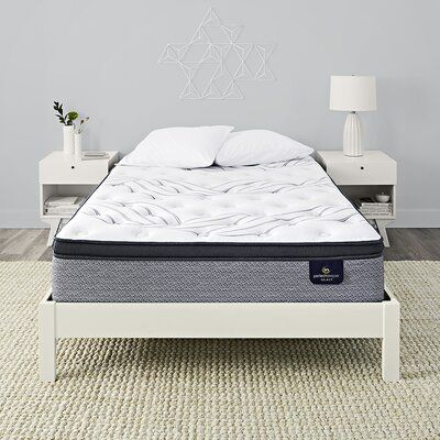 Serta Kleinmon 13 75 Firm Pillow Top Mattress And Box Spring